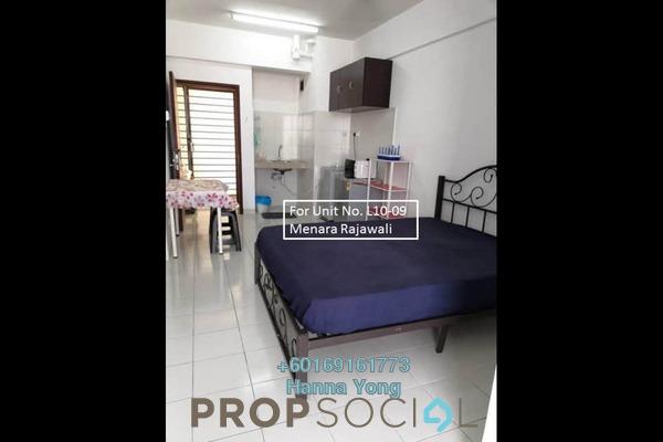 SoHo/Studio For Sale in Menara Rajawali, Subang Jaya Freehold Fully Furnished 0R/1B 285k