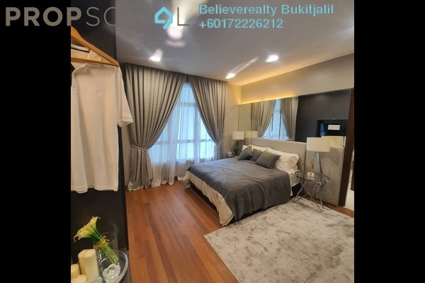 Condominium For Sale in Paraiso @ The Earth Bukit Jalil, Bukit Jalil Freehold Semi Furnished 4R/2B 576k
