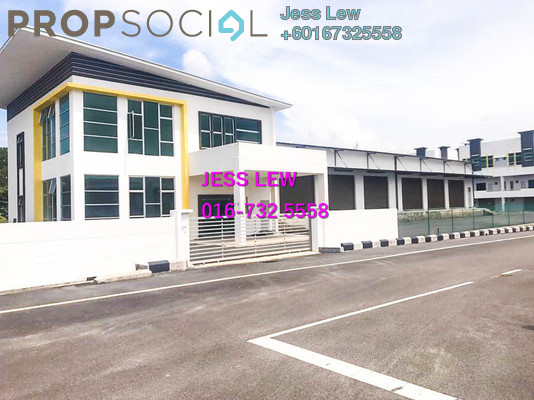 Factory For Sale in Taman Rembia Perkasa, Alor Gajah Freehold Semi Furnished 0R/0B 4.43m