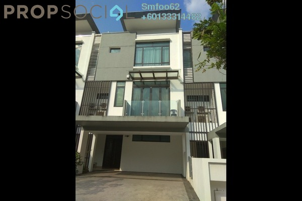 Terrace For Rent in Sunway Montana, Melawati Freehold Fully Furnished 4R/4B 3.5k