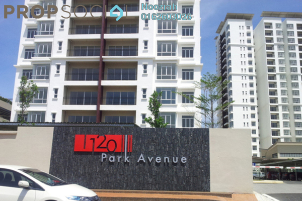 Condominium For Rent in 1120 Park Avenue, PJ South Leasehold Semi Furnished 3R/2B 1.7k