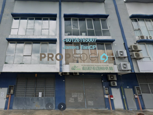 Factory For Sale in Taman Perindustrian Putra Permai, Seri Kembangan Freehold Semi Furnished 1R/2B 1.15m