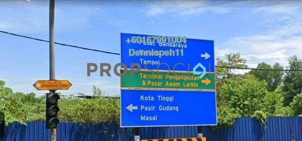 Land For Rent in Tebrau Industrial Estate, Tebrau Freehold Unfurnished 0R/0B 13k