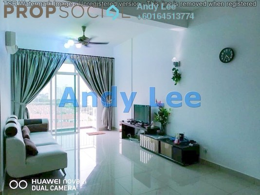 Apartment For Rent in Reflections, Sungai Ara Freehold Fully Furnished 3R/2B 1.45k