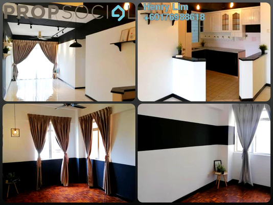 Apartment For Sale in Vista Seri Putra, Bandar Seri Putra Freehold Semi Furnished 3R/2B 290k