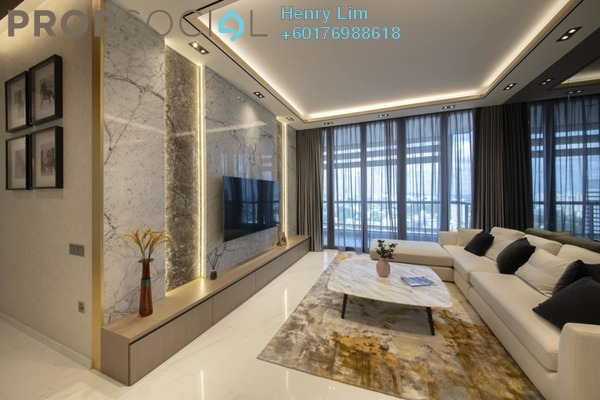 Condominium For Rent in Idaman Residence, KLCC Freehold Fully Furnished 3R/3B 4k