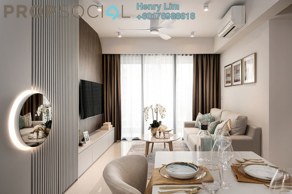 Serviced Residence For Rent in The Ruma, KLCC Freehold Fully Furnished 2R/2B 5k