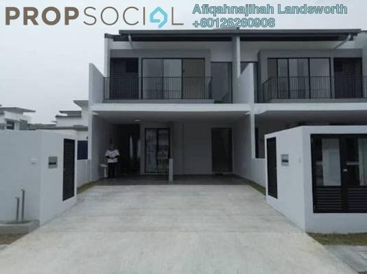 Townhouse For Sale in Lambaian Residence, Bangi Freehold Unfurnished 3R/2B 405k