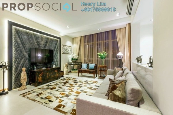 Condominium For Rent in The Oval, KLCC Freehold Fully Furnished 4R/4B 12k