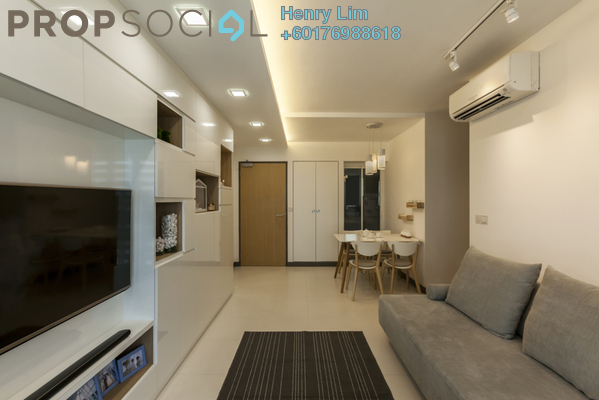 Condominium For Rent in Panorama, KLCC Freehold Fully Furnished 1R/1B 3k
