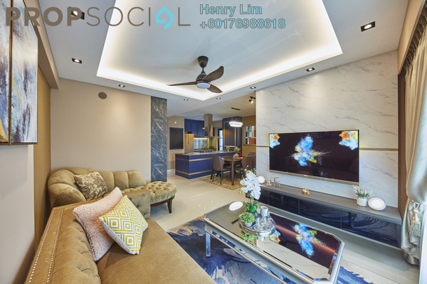Condominium For Rent in Panorama, KLCC Freehold Fully Furnished 4R/4B 6.5k