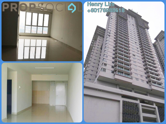 Condominium For Rent in Maxim Residences, Cheras Freehold Semi Furnished 2R/2B 1.2k