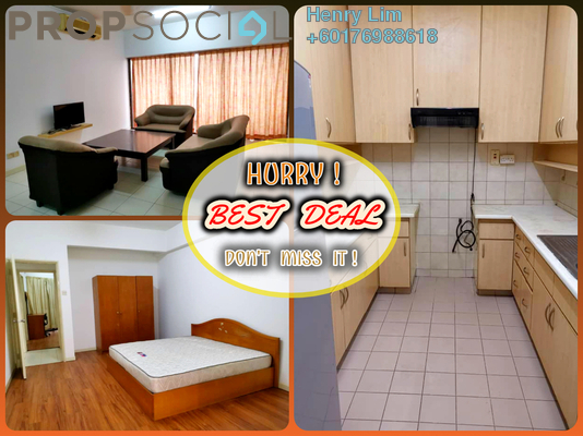Condominium For Rent in GCB Court, Ampang Hilir Freehold Fully Furnished 3R/3B 1.8k