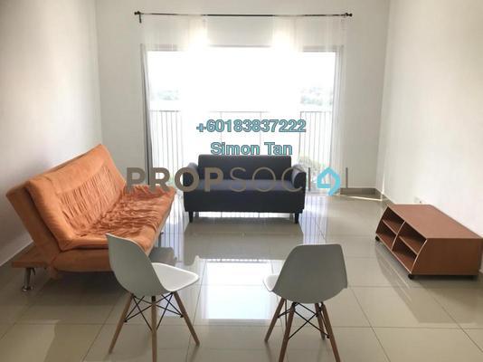 Condominium For Sale in Koi Legian, Bandar Puchong Jaya Freehold Semi Furnished 3R/2B 560k