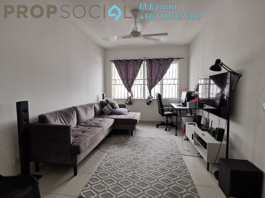 Apartment For Sale in De Palma Apartment, Setia Alam Freehold Unfurnished 3R/2B 275k