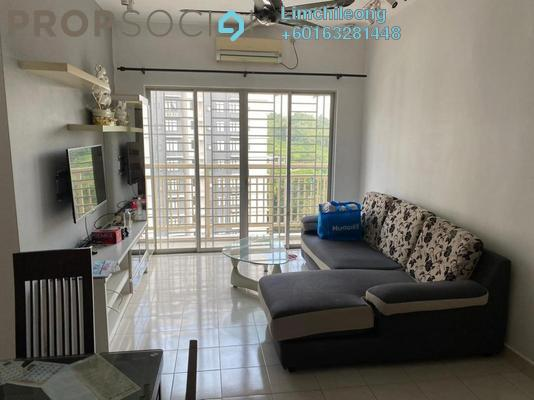 Apartment For Rent in Puteri Bayu, Bandar Puteri Puchong Freehold Fully Furnished 3R/2B 1.55k