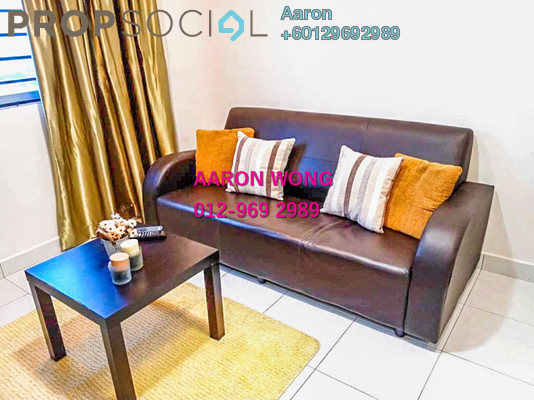 Serviced Residence For Rent in Main Place Residence, UEP Subang Jaya Freehold Fully Furnished 2R/1B 1.6k