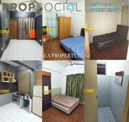 Apartment For Sale in Desa Ilmu Apartment, Kota Samarahan Freehold Semi Furnished 3R/2B 160k