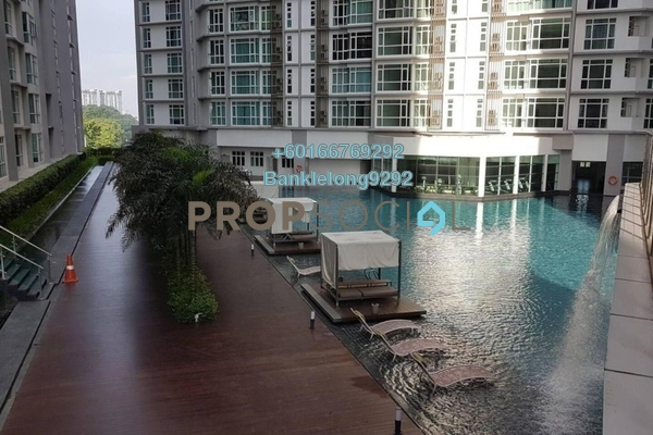 Condominium For Sale in Central Residence, Sungai Besi Freehold Semi Furnished 2R/2B 475k