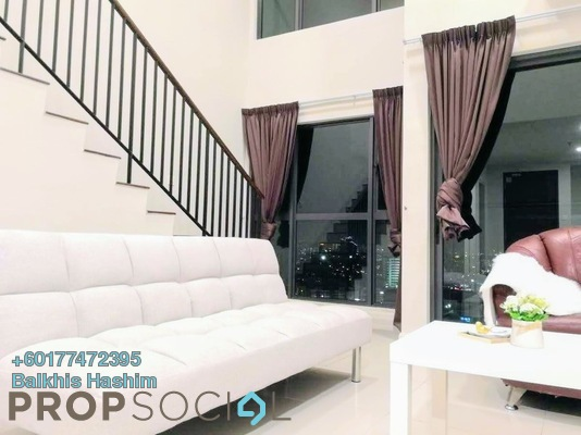 Duplex For Rent in Pacific 63, Petaling Jaya Freehold Semi Furnished 1R/2B 1.8k