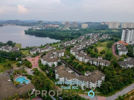 Villa For Sale in Cyber Heights Villa, Cyberjaya Freehold Semi Furnished 3R/2B 410k