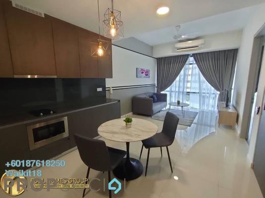 Condominium For Rent in Grand Medini, Medini Freehold Fully Furnished 1R/1B 1.3k