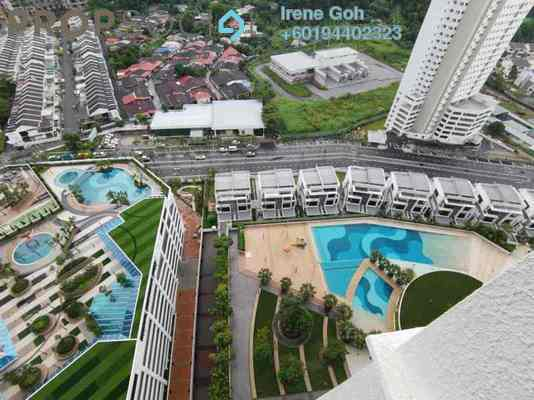 Condominium For Rent in Skycube Residence, Sungai Ara Freehold Fully Furnished 3R/2B 1.7k