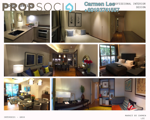 Condominium For Sale in Stonor 3, KLCC Freehold Fully Furnished 2R/2B 1.35m