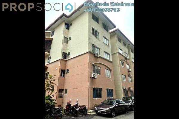 Apartment For Sale in Taman Sutera, Kajang Freehold Unfurnished 3R/2B 260k
