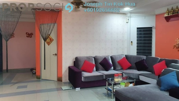 Terrace For Sale in Taman OUG, Old Klang Road Leasehold Semi Furnished 5R/2B 738k