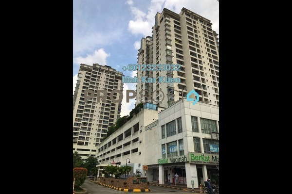 Serviced Residence For Sale in Ampang Putra Residency, Ampang Freehold Semi Furnished 4R/3B 462k