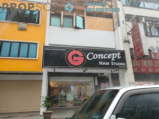 Shop For Sale in Taman United, Old Klang Road Freehold Unfurnished 3R/4B 2.1m