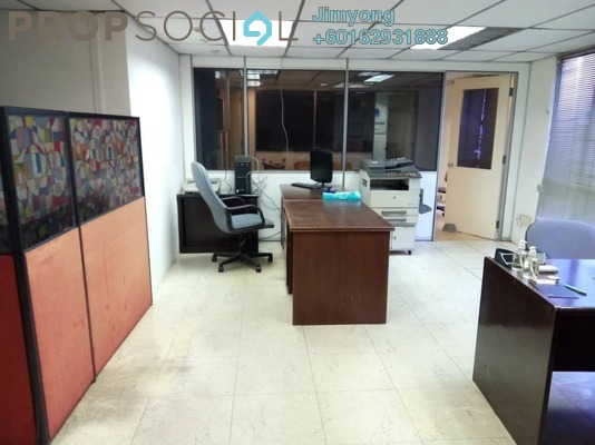 Office For Rent in 3rd Mile Square, Old Klang Road Freehold Fully Furnished 4R/1B 1.4k
