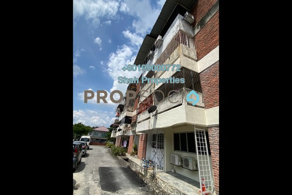 Apartment For Rent in Sea Park Apartment, Petaling Jaya Freehold Semi Furnished 2R/1B 1.1k