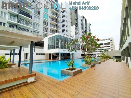 Condominium For Rent in Hijauan Heights, Kajang Freehold Unfurnished 3R/2B 1k
