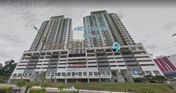 Condominium For Sale in Jalan Station, Bandar Johor Bahru Freehold Unfurnished 0R/1B 160k
