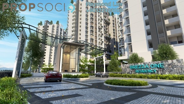 Condominium For Sale in Brezza One Residency, Ampang Jaya Leasehold Unfurnished 3R/3B 545k