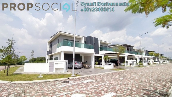 Semi-Detached For Sale in Corallia @ D'Island, Puchong Freehold Unfurnished 6R/6B 1.74m