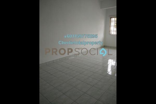 Townhouse For Rent in Taman Mastiara, Jalan Ipoh Freehold Semi Furnished 3R/2B 1.1k
