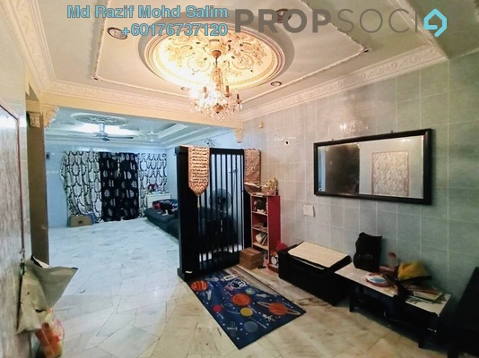 Terrace For Sale in Taman Baiduri, Banting Freehold Semi Furnished 4R/3B 405k