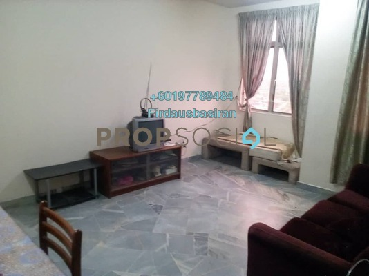 Apartment For Sale in Ilham Apartment, TTDI Jaya Freehold Unfurnished 3R/2B 250k