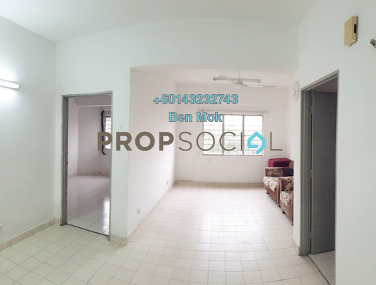 Condominium For Sale in Prisma Perdana, Cheras Freehold Semi Furnished 3R/2B 318k