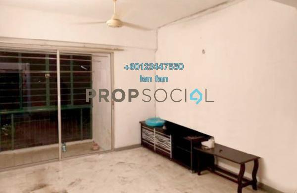 Apartment For Sale in Sri Damansara Court, Bandar Sri Damansara Freehold Semi Furnished 2R/2B 328k