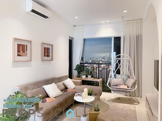 Condominium For Sale in MH Platinum Residency, Setapak Leasehold Unfurnished 3R/2B 300k