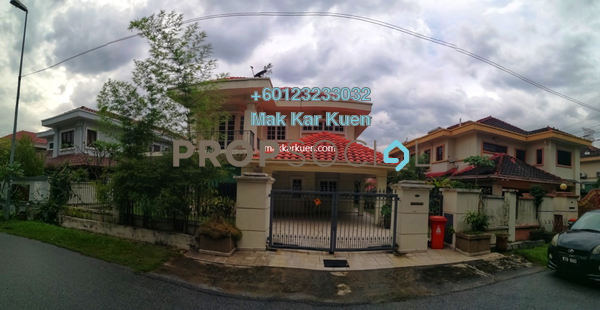 Semi-Detached For Sale in 28 Residency, Sunway Damansara Leasehold Semi Furnished 4R/4B 1.7m