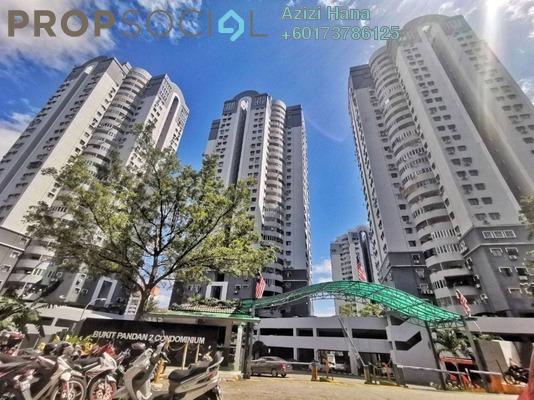Condominium For Sale in Pandan Perdana, Pandan Indah Freehold Semi Furnished 3R/2B 365k