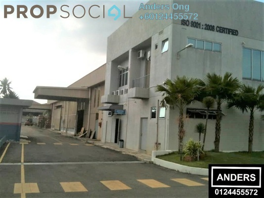 Factory For Rent in Taman Perindustrian Bukit Minyak, Bukit Minyak Freehold Unfurnished 0R/0B 36.5k
