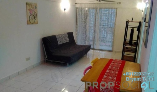 Apartment For Rent in Arena Green, Bukit Jalil Freehold Fully Furnished 2R/2B 1.1k