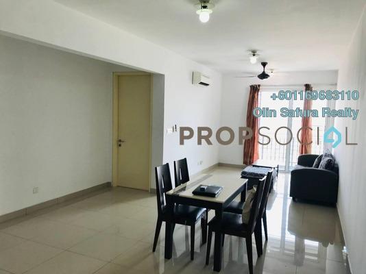 Condominium For Sale in De Centrum Residences, Kajang Freehold Semi Furnished 3R/2B 600k