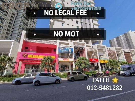 Shop For Sale in Prominence, Bukit Mertajam Freehold Semi Furnished 0R/0B 1.1m